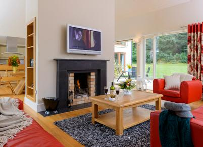 Sheen Falls Country Club | Co. Kerry | Sheen Falls Mountain View House 9 Sitting Room